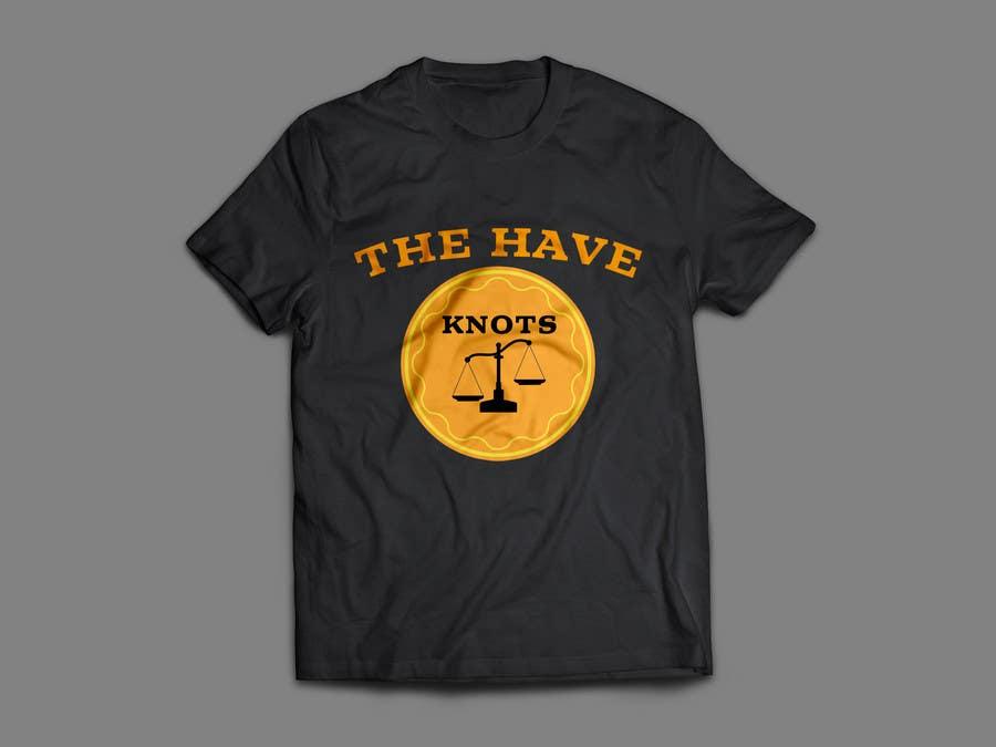 """Inscrição nº 22 do Concurso para T Shirt """"The Have Knots"""" for Fortunate Clothing"""