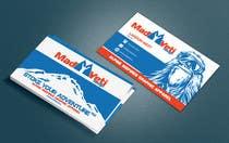 Design some Business Cards for Mad Yeti Design için Graphic Design114 No.lu Yarışma Girdisi