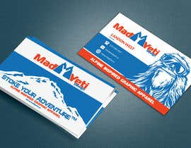 #114 para Design some Business Cards for Mad Yeti Design por Franstyas