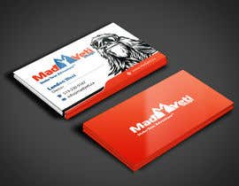angelacini tarafından Design some Business Cards for Mad Yeti Design için no 53