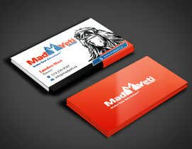 angelacini tarafından Design some Business Cards for Mad Yeti Design için no 54