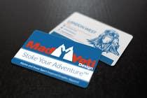 Design some Business Cards for Mad Yeti Design için Graphic Design21 No.lu Yarışma Girdisi