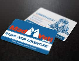 s04530612 tarafından Design some Business Cards for Mad Yeti Design için no 107