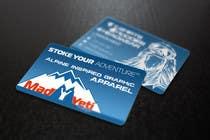 Design some Business Cards for Mad Yeti Design için Graphic Design111 No.lu Yarışma Girdisi