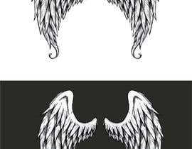 #56 for Design a pair of angel wings for baby clothing af desislavsl