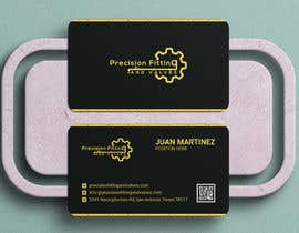 #198 untuk Design Business Cards For Oil and Gas company oleh Shyamals