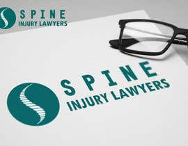 #36 para Design a Logo for Spine Injury Lawyers por AndriiOnof
