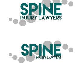 nº 43 pour Design a Logo for Spine Injury Lawyers par KrisNissen