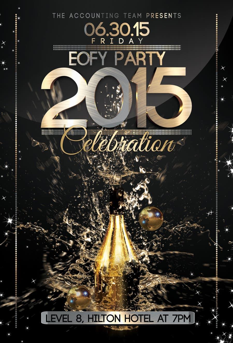 Inscrição nº 7 do Concurso para Design a Flyer for Party!