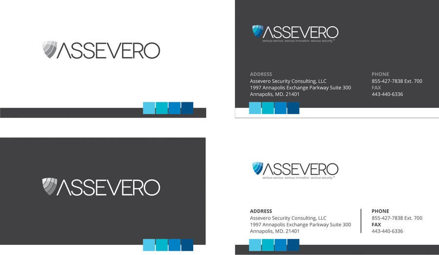 Konkurrenceindlæg #9 for Design some Business Cards for Assevero