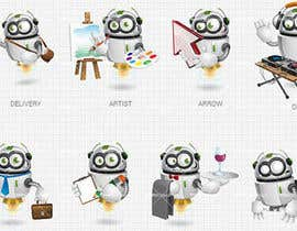 #6 for Design set of avatars for jokes/funny website by Ivanbarton