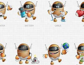 #7 for Design set of avatars for jokes/funny website by Ivanbarton