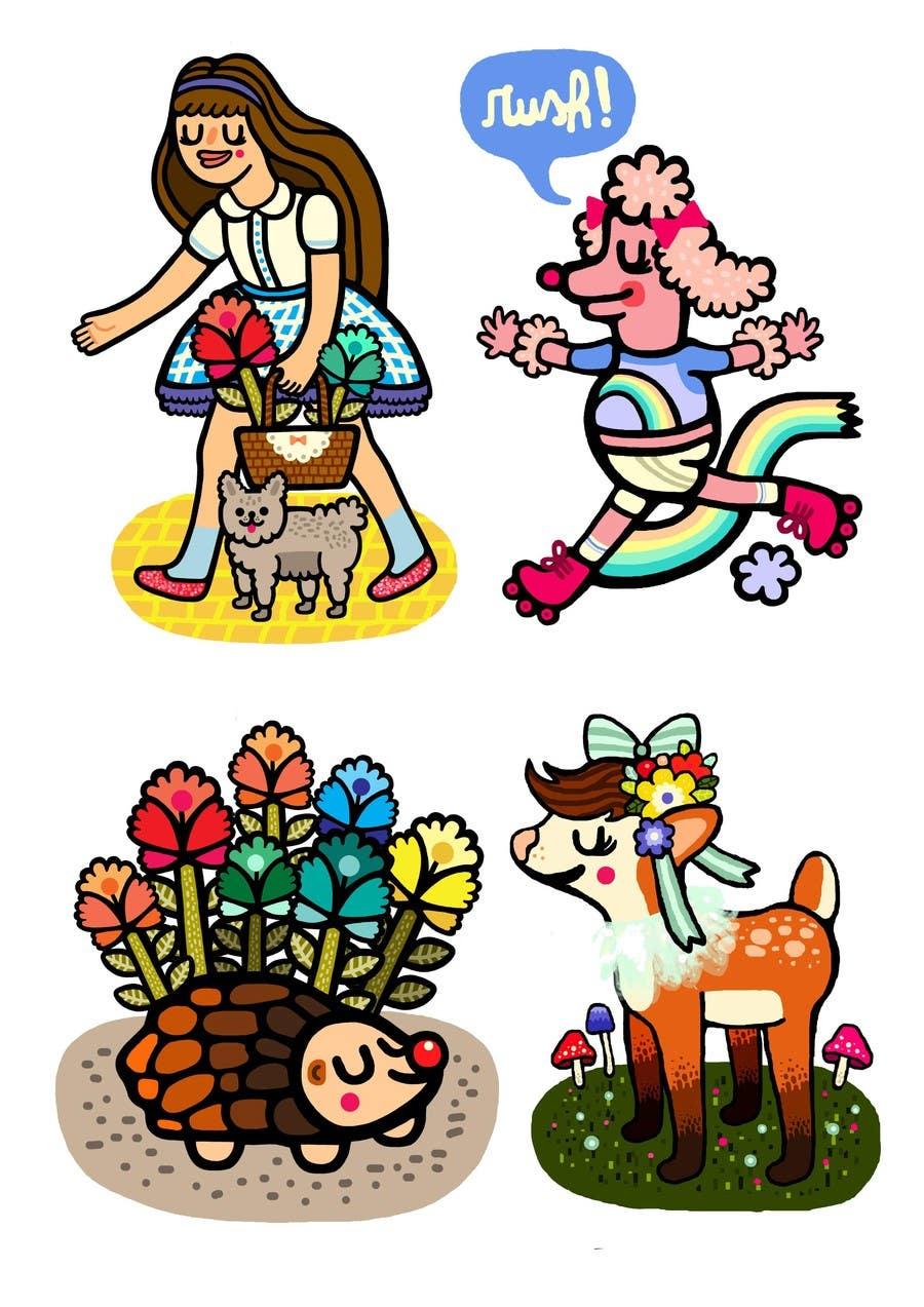 Konkurrenceindlæg #                                        12                                      for                                         Design set of avatars for jokes/funny website