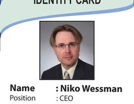 #54 for Design a company ID card by Zakaria099