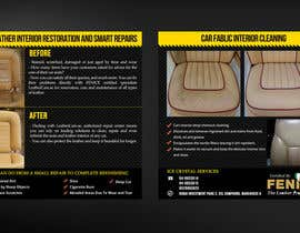 Nro 23 kilpailuun Design a Flyer for Car Interior Leather Restoration and Fabric Cleaning käyttäjältä mirandalengo