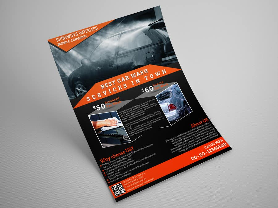 Bài tham dự cuộc thi #16 cho Design a Flyer for Car Interior Leather Restoration and Fabric Cleaning