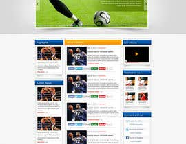 nº 14 pour Design a sportsbetting website par arka123