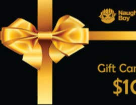 #17 for Design a $10 Gift Card for an Adult Store by ebezek