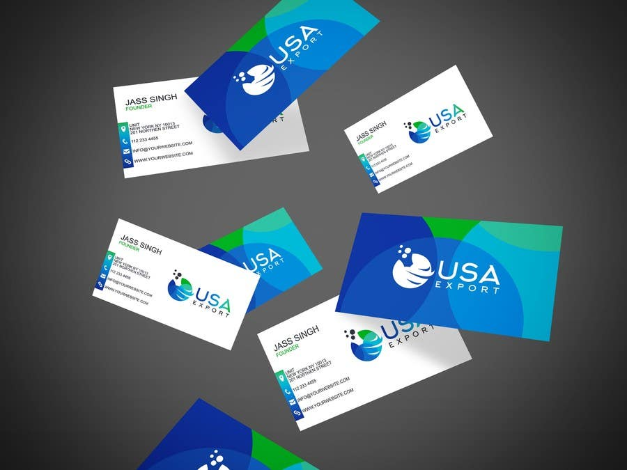 Konkurrenceindlæg #                                        117                                      for                                         Get a Logo and a Business card designed for an exporting company