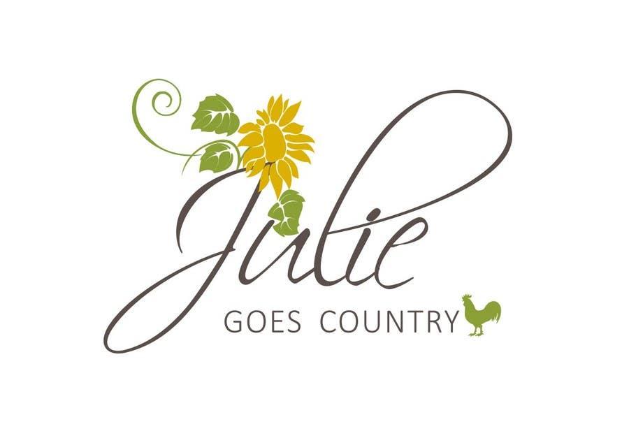 Konkurrenceindlæg #                                        23                                      for                                         Design a Logo for Julie Goes Country