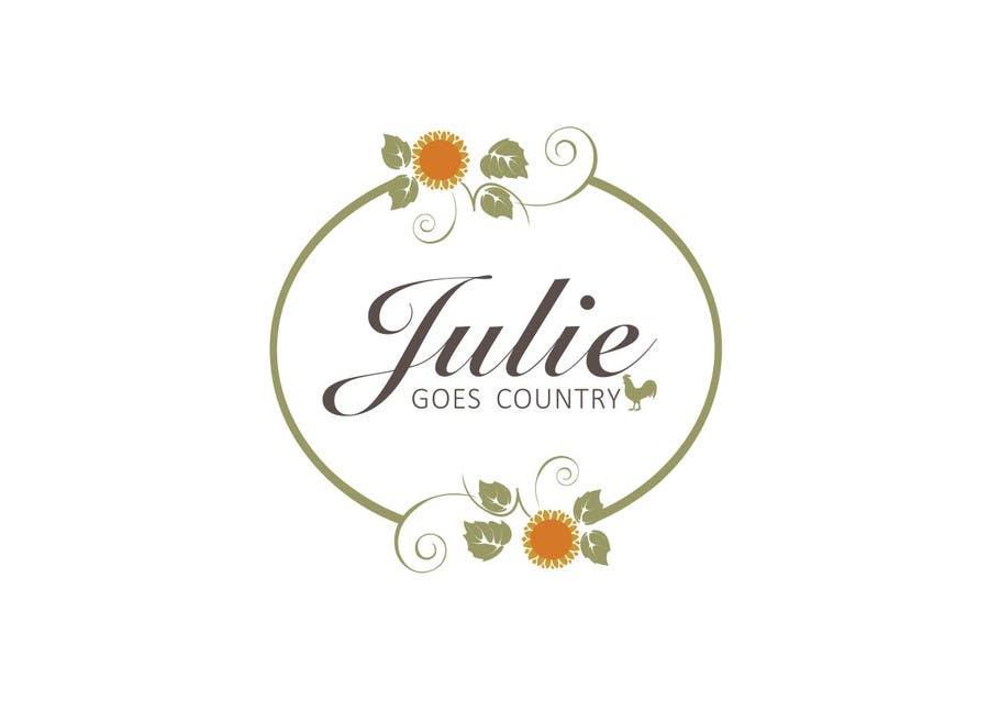 Konkurrenceindlæg #                                        34                                      for                                         Design a Logo for Julie Goes Country