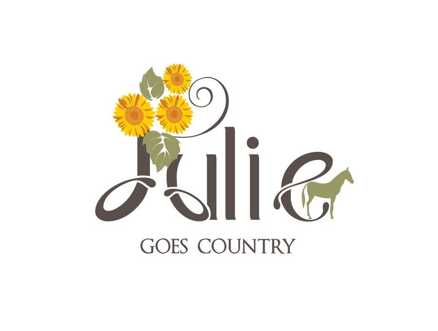 Konkurrenceindlæg #                                        67                                      for                                         Design a Logo for Julie Goes Country