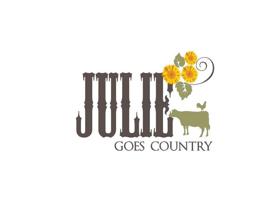 Konkurrenceindlæg #                                        73                                      for                                         Design a Logo for Julie Goes Country