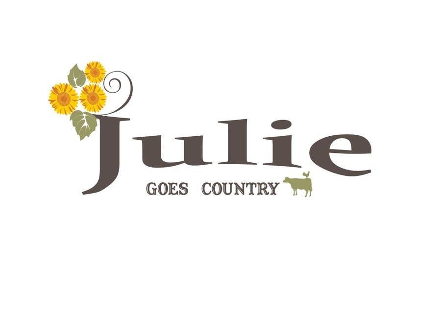 Konkurrenceindlæg #                                        87                                      for                                         Design a Logo for Julie Goes Country