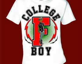 "#17 cho Design a T-Shirt for ""College Boy"" bởi mj956"