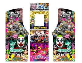 #14 untuk We need graphics skin design for arcade machine (pop art)-MUST BE ORIGINAL oleh Essiroop