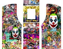 #21 untuk We need graphics skin design for arcade machine (pop art)-MUST BE ORIGINAL oleh Essiroop