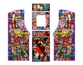 #2 untuk We need graphics skin design for arcade machine (pop art)-MUST BE ORIGINAL oleh rafaelM20