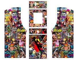 #4 untuk We need graphics skin design for arcade machine (pop art)-MUST BE ORIGINAL oleh rafaelM20