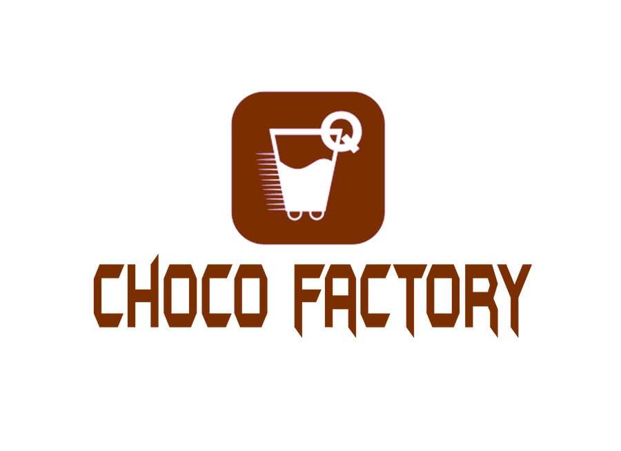 Penyertaan Peraduan #32 untuk Choco Factory Logo