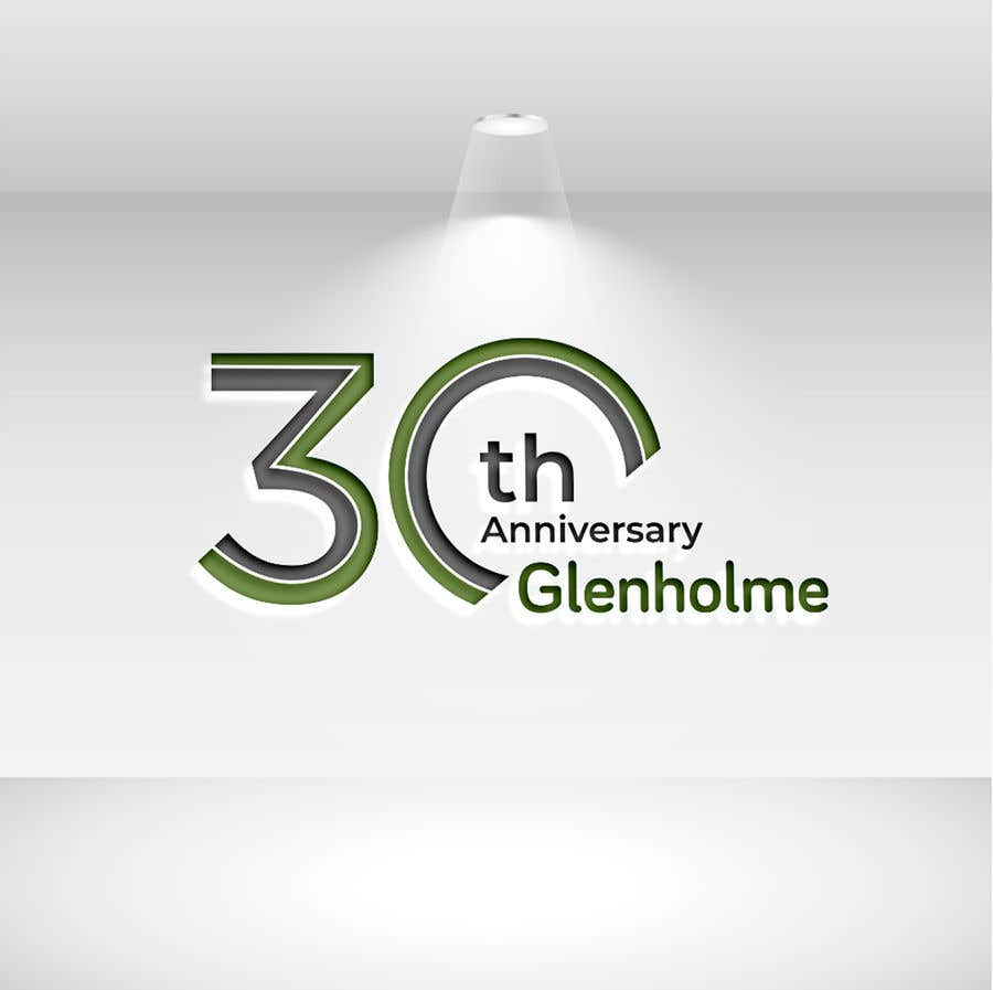 Конкурсная заявка №                                        286                                      для                                         Create a 30th Anniversary version of our logo for us