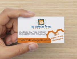 #10 for Birthday Marketing Business Cards af MariManoo