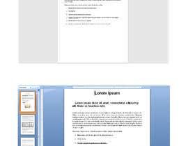 Nro 53 kilpailuun Retype, PDF into Word käyttäjältä DipKumar56