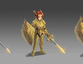 #77 untuk 2d design of an armour for gaming oleh Fyon