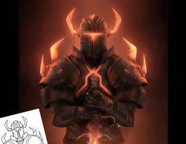 #67 untuk 2d design of an armour for gaming oleh JoshuaLbon