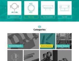 nº 15 pour Build a mockup for new website homepage par greenarrowinfo