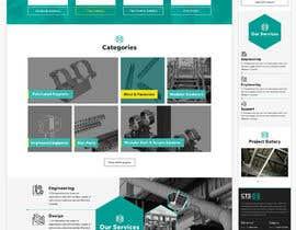 nº 33 pour Build a mockup for new website homepage par greenarrowinfo