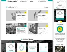 nº 108 pour Build a mockup for new website homepage par greenarrowinfo