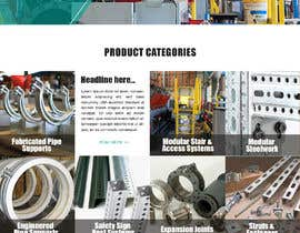 nº 141 pour Build a mockup for new website homepage par carmelomarquises