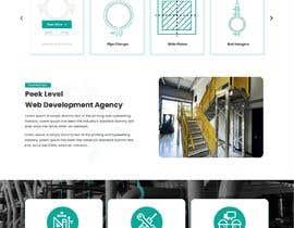 nº 105 pour Build a mockup for new website homepage par peklevel