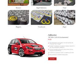 #21 for Redesign front home page and product page af saidesigner87