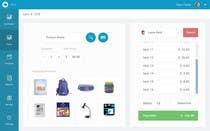 Point-of-Sale Web App Design (PSD) için Graphic Design36 No.lu Yarışma Girdisi