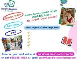 #7 untuk Create/update Flyer For Marketing to Parents of Elementary Kids oleh rigel07