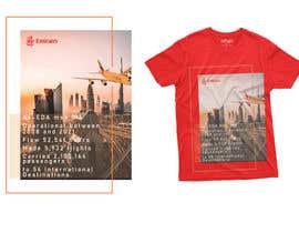 Nro 78 kilpailuun Design a t-shirt featuring Emirates Airlines and the retirement of their first Airbus A-380 käyttäjältä arafathshohag