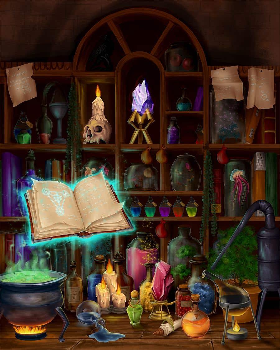 Penyertaan Peraduan #                                        51                                      untuk                                         Digital Illustration - Fantasy art
