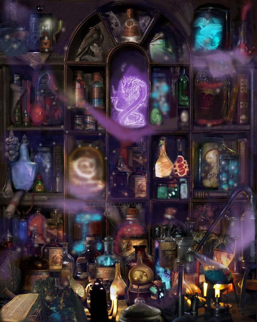 Penyertaan Peraduan #                                        41                                      untuk                                         Digital Illustration - Fantasy art